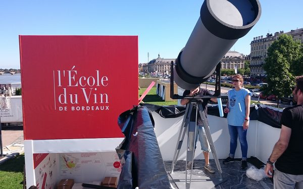 Wines telescope of Bordeaux